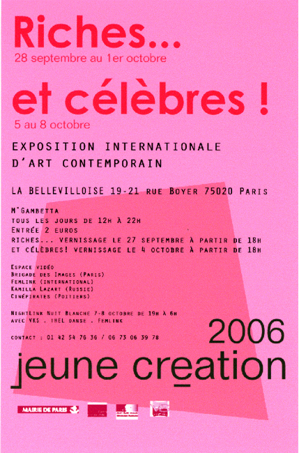 flyer jeune creation